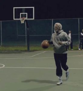 Kyrie Irving as Uncle Drew in a Pepsi Max commercial. Credit to ufunk.net