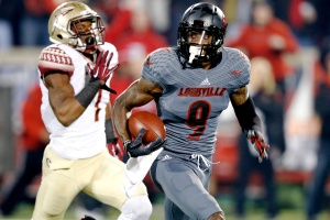 Louisville wide receiver, Devante Parker. Photo Credit-chatsports.com