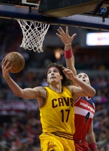 Former Cavaliers power forward, Anderson Varejao. Photo credit-Keith Allison
