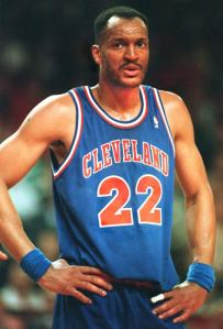 Former Cavaliers forward, Larry Nance.