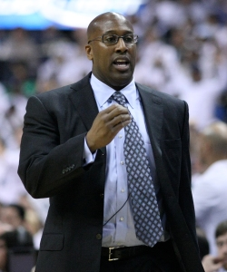 Former Cavaliers coach, Mike Brown.