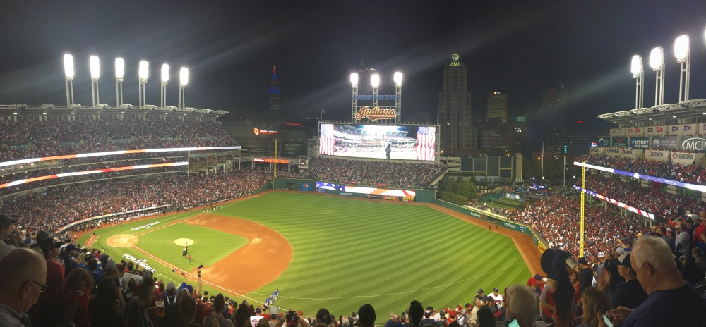 The scene before Game 6 of the World Series on November 1. Photo Credit-Jeff Lansky